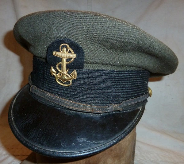 ... hat this is a world war ii era hat made by the naval uniform service